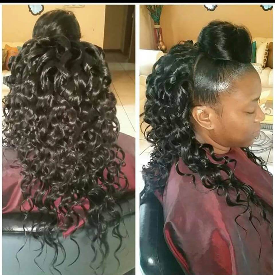 Start selling hair extensions with no stock