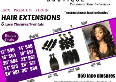 Monaes Virgin Hair Boutique