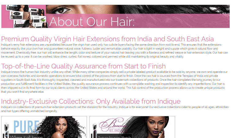 Online Hair Store