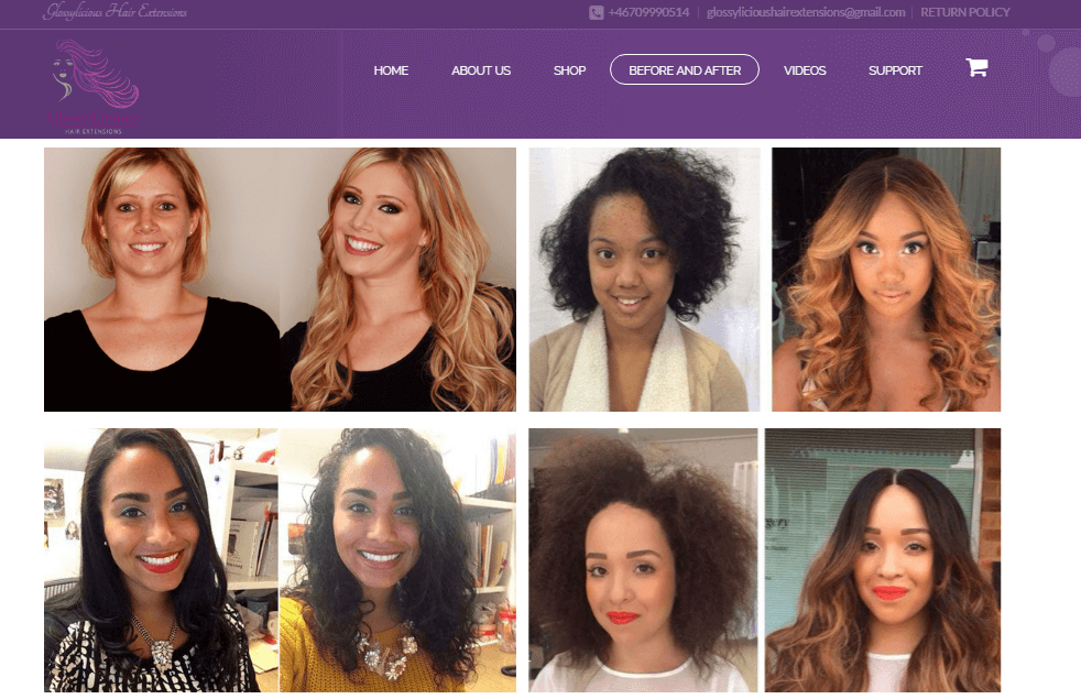 Hair Extensions in Sweden with a flavour of Kenya