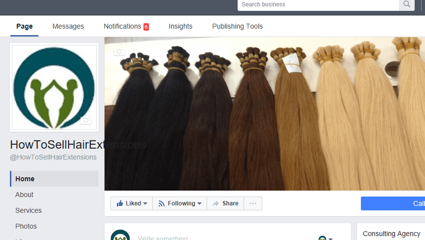 Start Selling Hair with a Facebook Page