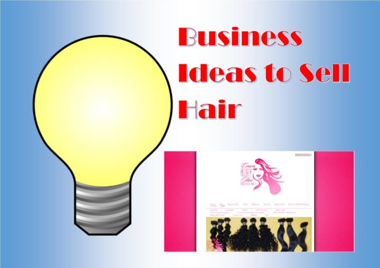 How to find small business ideas to sell hair