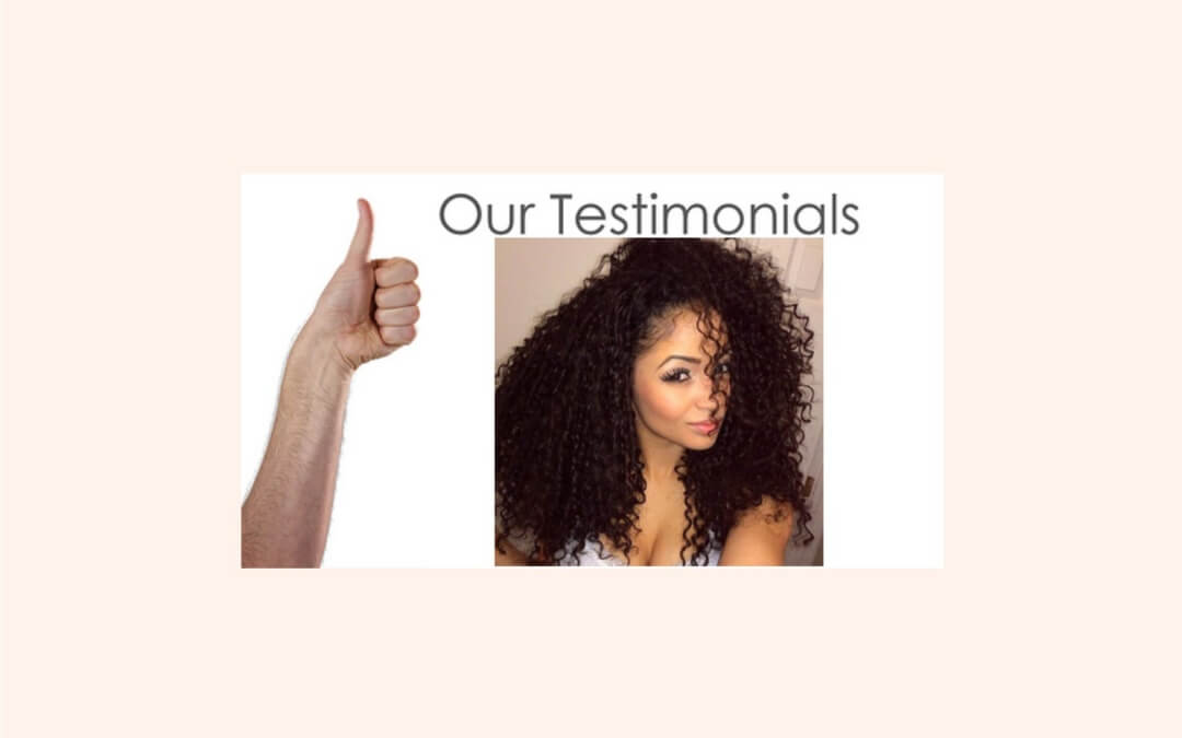 How to get an Awesome Hair Testimonial Video