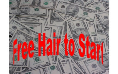StartUps do not want Free Hair to Start their Business