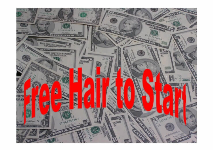 Start selling hair extension products