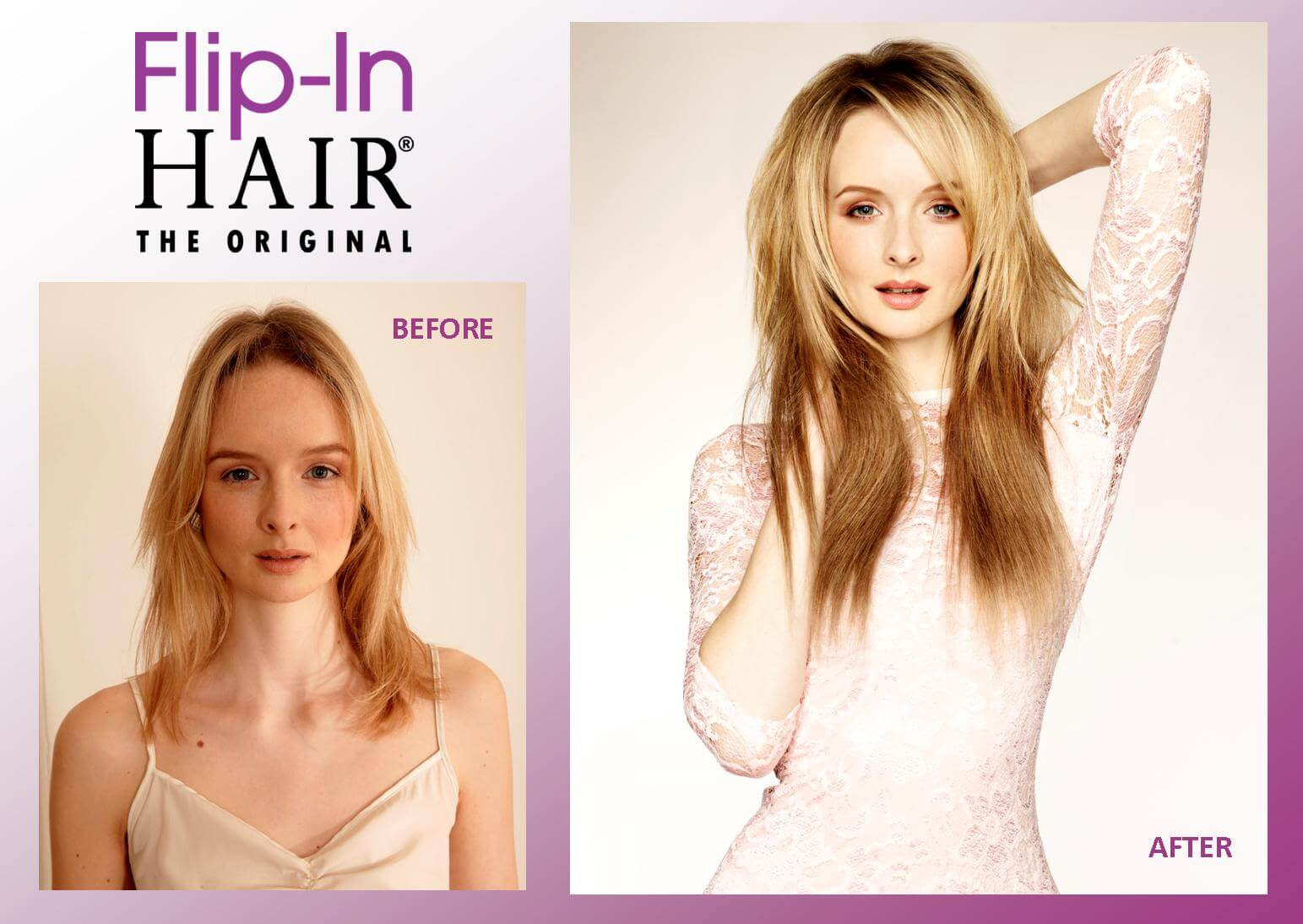 Flip In hair Promo Photo 1
