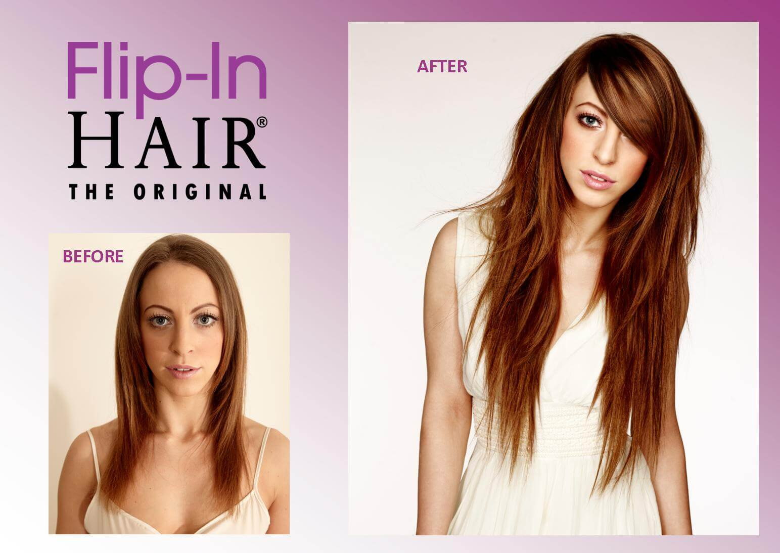 Flip In hair Promo Photo 2