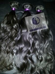 hair extension samples
