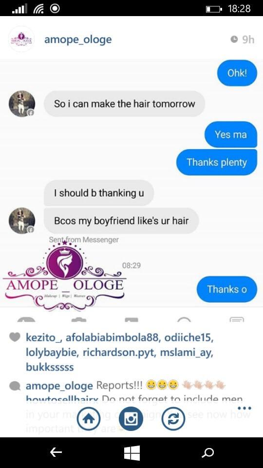 Selling Hair Bundles