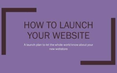 How to launch your new hair web shop and get visitors right away
