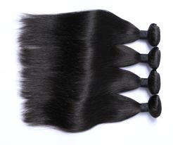100%human hair straight hair weft