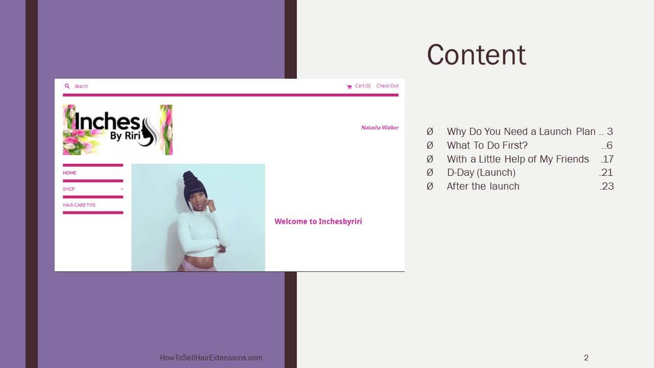 Content Launch Plan